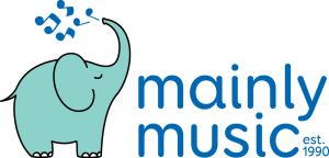 The Mainly Music Logo - established in 1990.